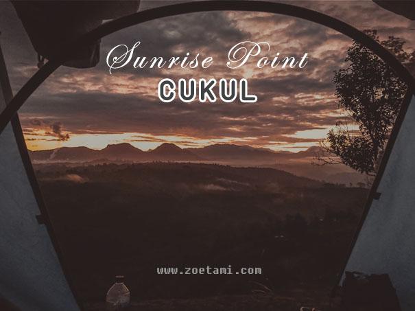 Camping di Sunrise Point Cukul