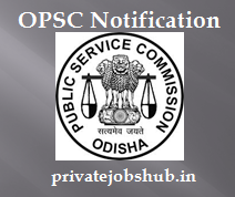 OPSC Notification