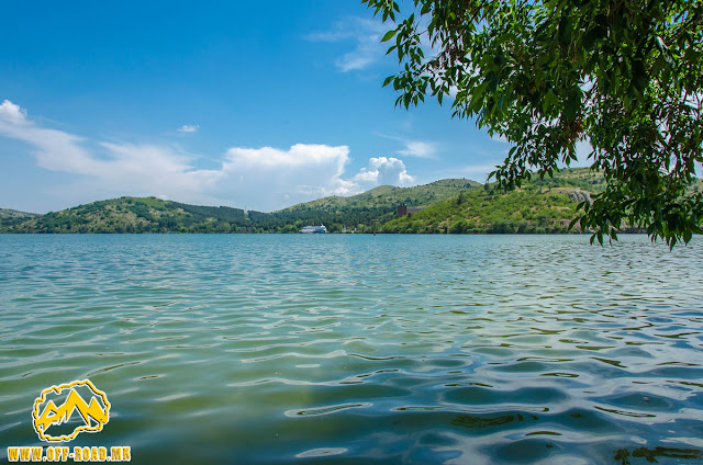 Mladost Lake near Veles city, Macedonia