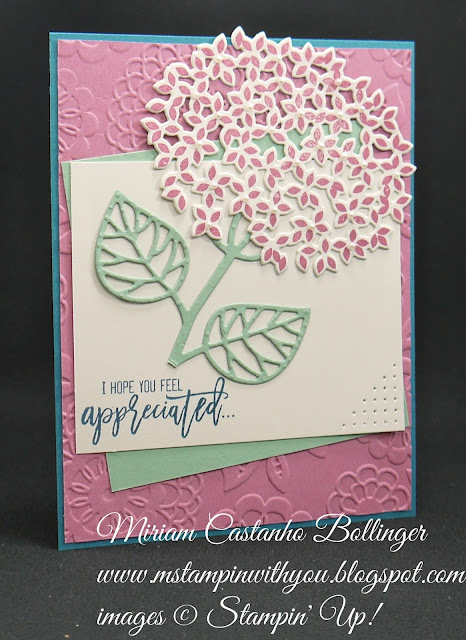 Miriam Castanho-Bollinger, #mstampinwithyou, stampin up, demonstrator, dsc, thank you, thoughtful branches bundle, big shot, lovely lace tief, su
