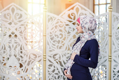 gaya busana hijab untuk ibu hamil