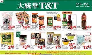 T&T Supermarket Flyer Weekly Specials valid Flyer September 15 - 21, 2017
