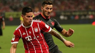 Video Gol Bayern Munich vs Arsenal 3-4 ICC 2017 China