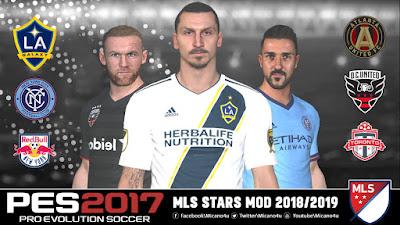 PES 2017 MLS Stars Mod 2018/2019