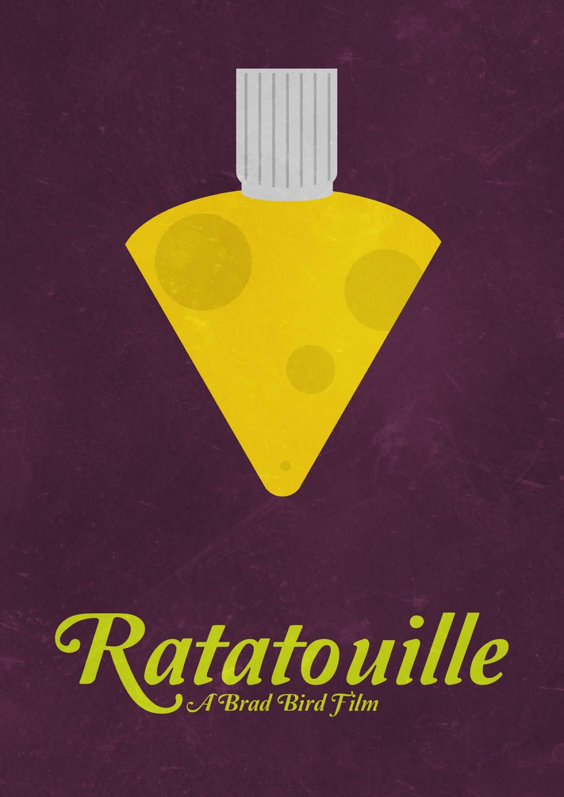 The Geeky Nerfherder: Movie Poster Art: Ratatouille (2007)
