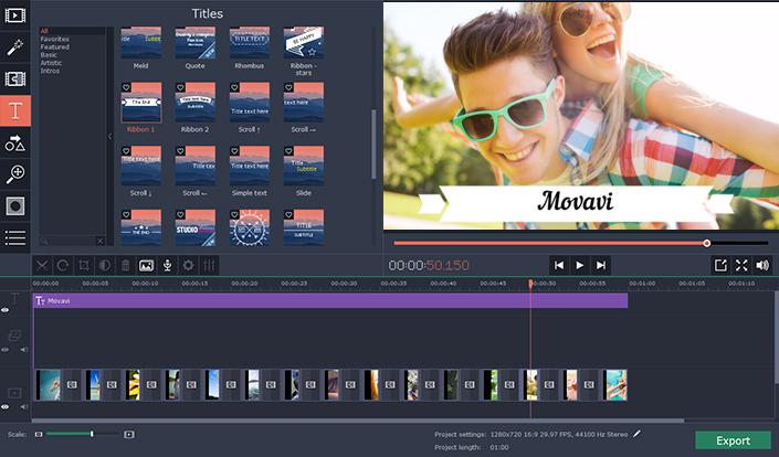 تحميل تطبيق موفافي فيديو إديتور Movavi Video Editor للكمبيوتر مجاناً أحدث إصدار 2017
