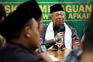 Tunggu Pengumuman Resmi KPU, Ma'ruf Amin Minta Jangan Dipanggil Wapres Dulu