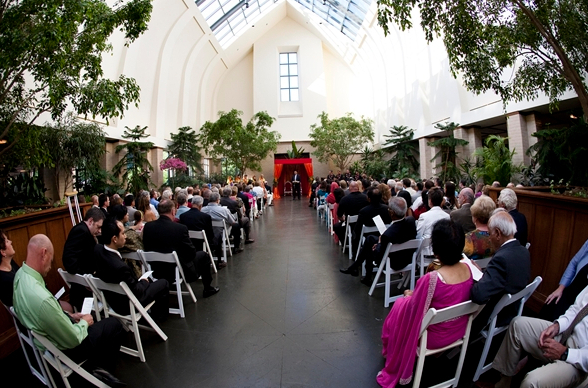 Lauritzen Gardens Omaha Wedding Venue