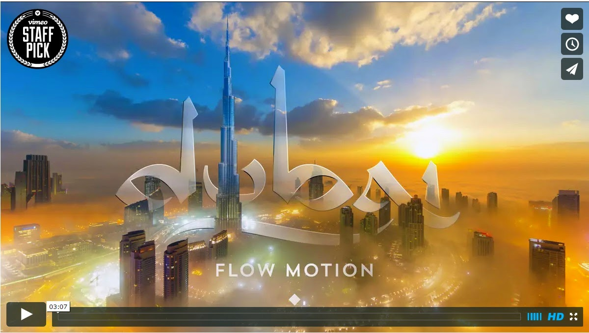 Dubai in flow-motion