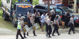 Ratusan Aparat Keamanan Diterjunkan untuk Amankan Demo KNPB