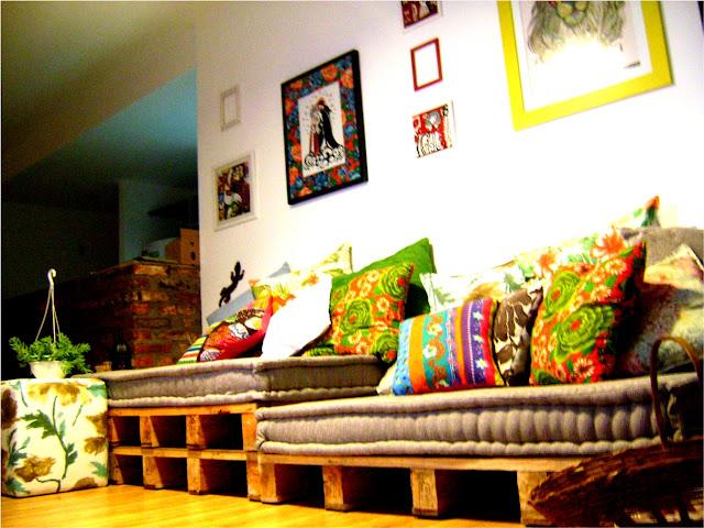 ideias de sofá com pallets