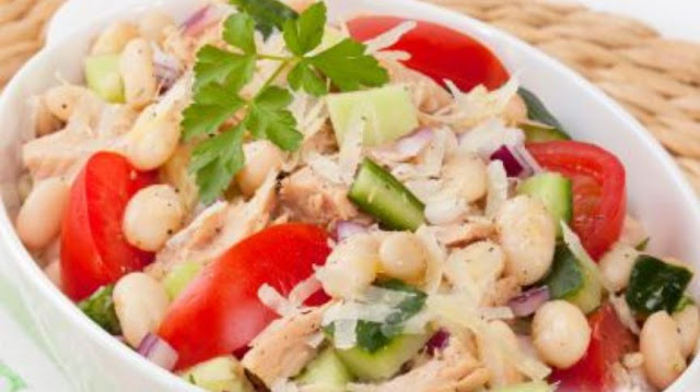 4sp - Tuna and White Bean Salad