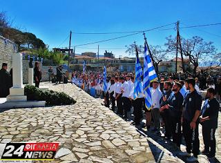 Δ. Ε. ΦΙΓΑΛΕΙΑΣ: Με λαμπρότητα οι εορταστικές εκδηλώσεις για την Εθνική Επέτειο