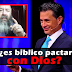 ¿es bíblico pactar con Dios?_ Pastores pentecostales enseñan a Cash Luna