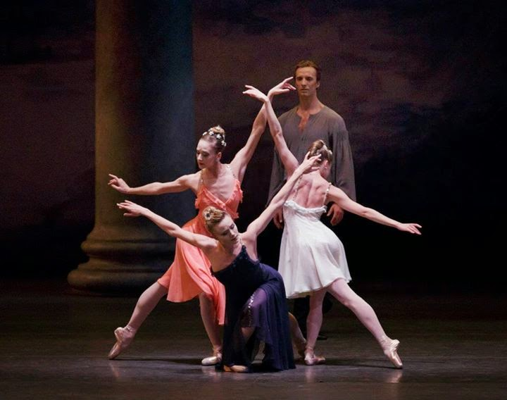 bf765c4a24d2e City Ballet: Morgen; Clearing Dawn; Funerailles; Belles-Lettres; and ...