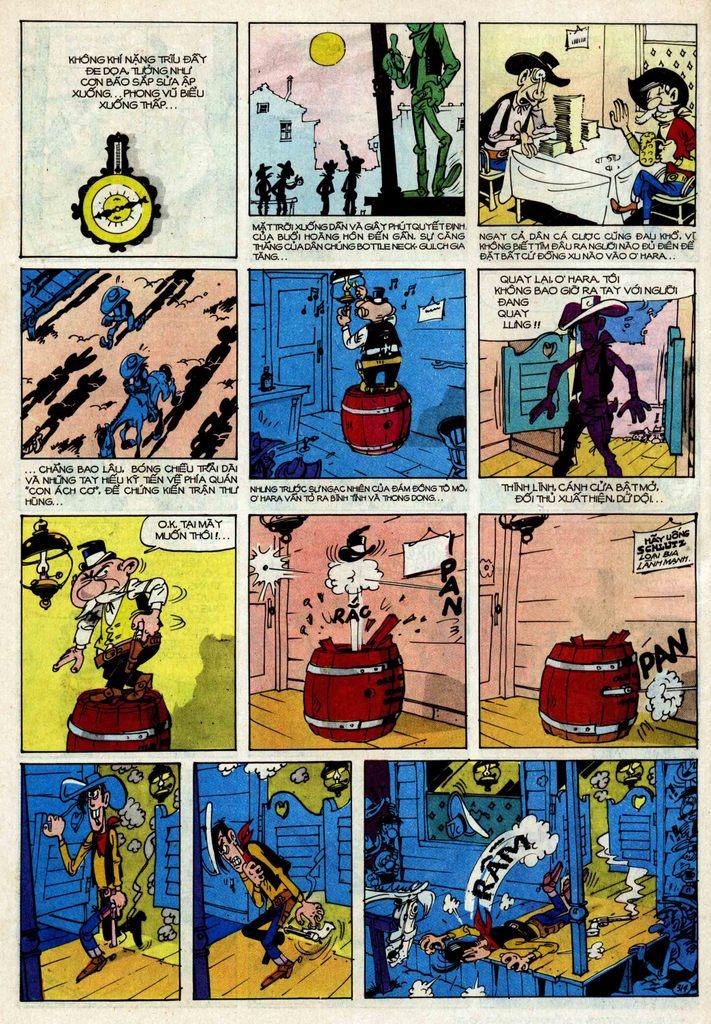Lucky Luke tập 25 - nhện chân dài trang 14