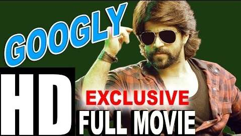 Poster Of Googly 2016 Hindi Dubbed 400MB HDRip 480p Free Download Watch Online Worldfree4u