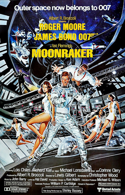 Póster original película Moonraker