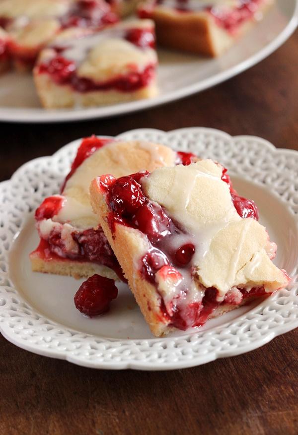 Jam Hands: Sweet and Simple Cherry Pie Bars