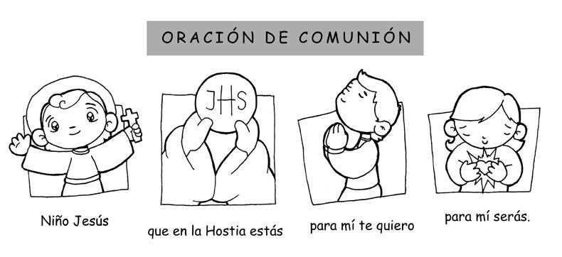 Dibujos De Comunion Para Imprimir Y Colorear: ReliArtes: Oración Comunión (dibujo