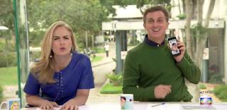 Programa da Rede Globo  videos   Show  apresentador por Luciano Huck, e Angelica perde para  o Quadro a hora da  venenosa da,Fabíola  Reipert.