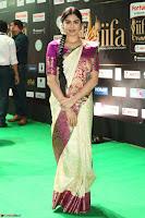Adah Sharma looks super cute in Saree at IIFA Utsavam Awards 016.JPG