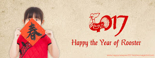 Chinese Rooste New Year 2017 banner