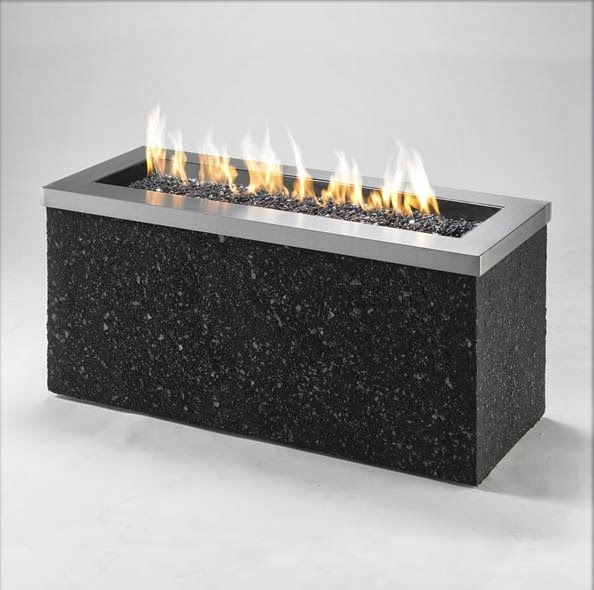 The Fire Pit Resource: Key Largo Linear Gas Fire Pit