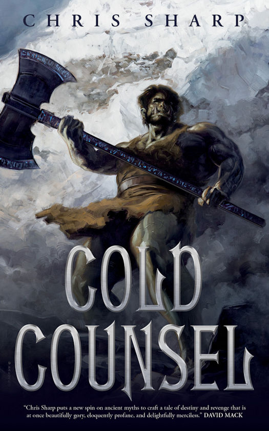 Interview with Chris Sharp, author of Cold Counsel