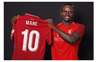 SPORTEPL: Sadio Mane gets new jersey number at Liverpool