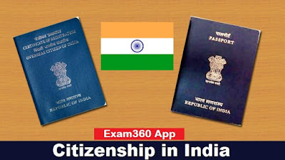 SSC and Railway Notes Citizenship in India