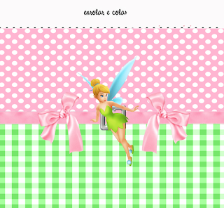 Tinker Bell  Free Printables Labels.