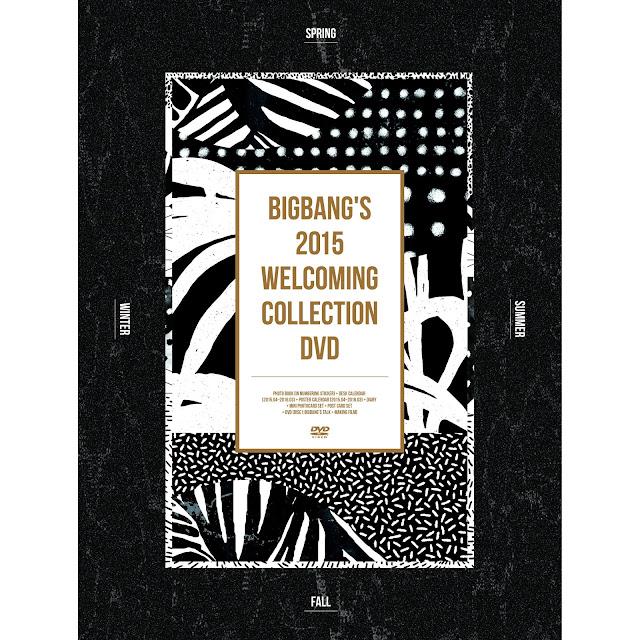 [DVD] BIGBANG's 2015 Welcoming Collection (ISO)