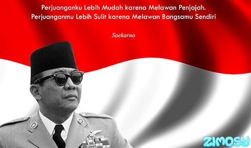 Gambar Biografi Singkat Soekarno