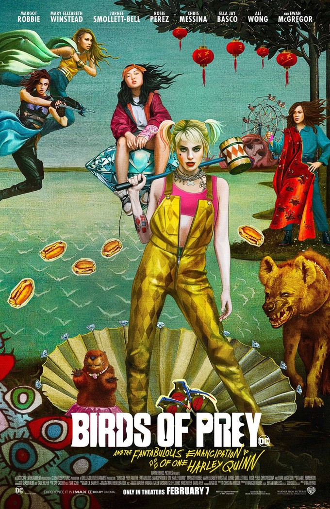 Birds of Prey 2020 English 720p HDRip 800MB ESubs