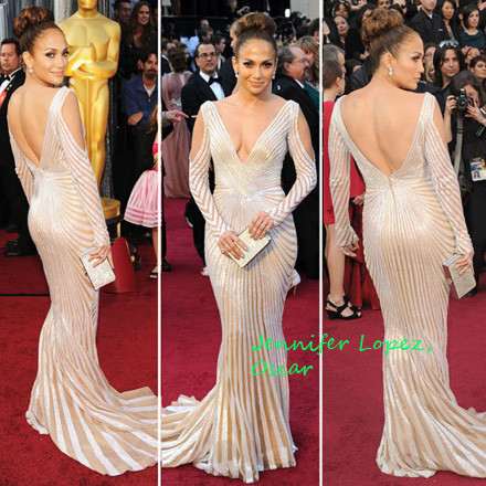 e333d60a652 The actress-slash-pop star wore an eye-catching Zuhair Murad gown with a  very low-cut neck and cutout shoulders. Yeah