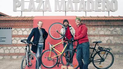 Con B de Bici en Matadero, Madrid