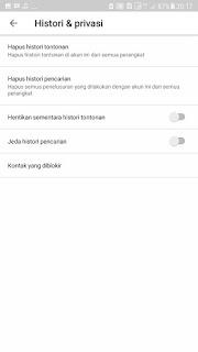 Cara Menghapus dan Menghilangkan Riwayat Pencarian Youtube di Android