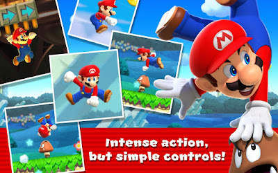 Tampilan Game Super Mario Run Android