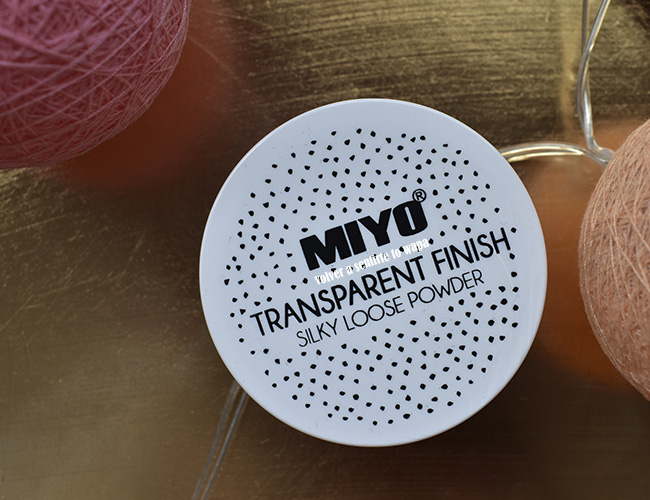 Polvos Sueltos Transparent Finish de Miyo