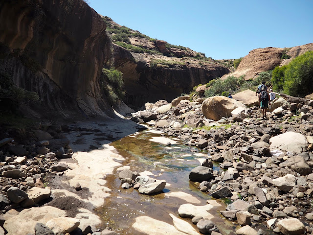 Pitseng Gorge, Lesotho, Africa