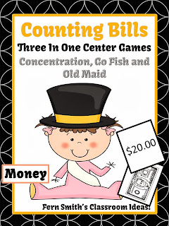 http://www.teacherspayteachers.com/Product/New-Years-Money-Bills-Only-Center-Games-and-Interactive-Notebook-Activities-1024383
