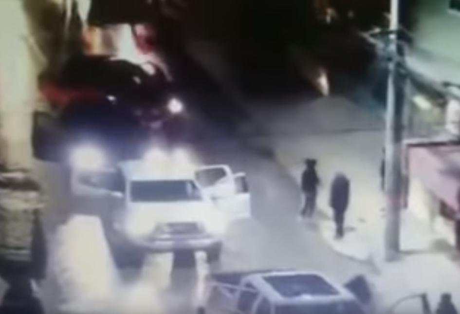 Vídeo convoy de Sicarios bien armados en el Estado de México