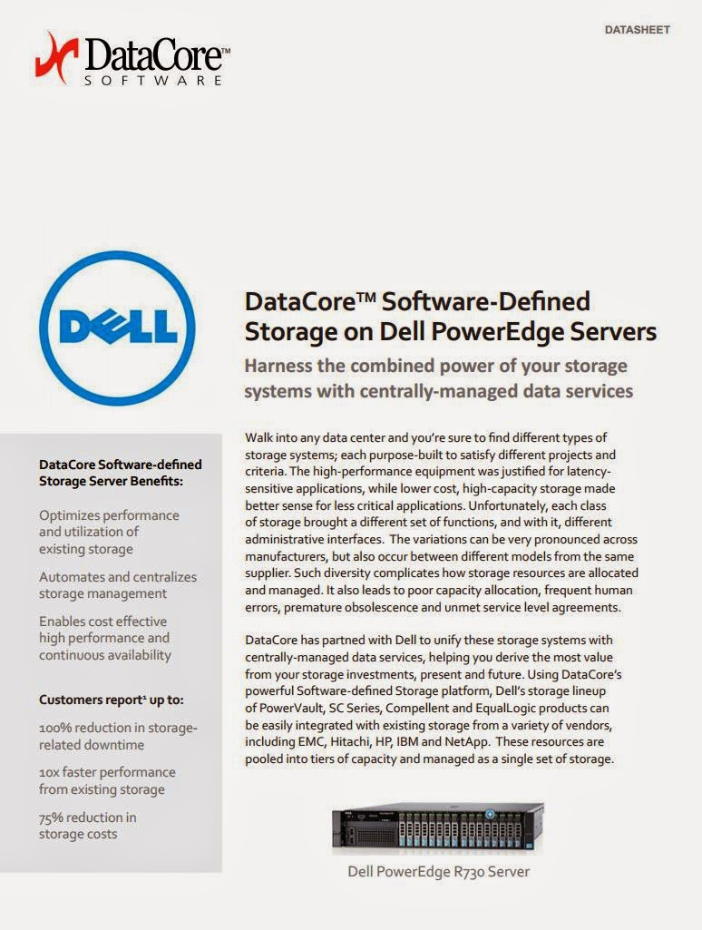 Dell Poweredge Server mit DataCore machen große Software Defined Speicherlösungen