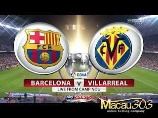 Prediksi Judi Bola Barcelona vs Villarreal 6 Mei 2017