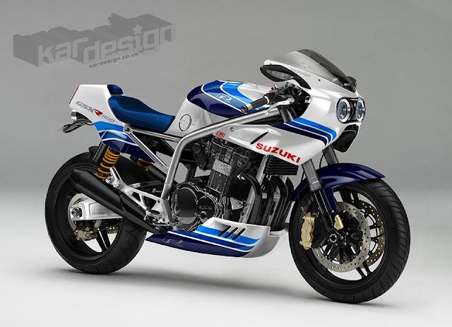 Suzuki Gp  Cafe Racer