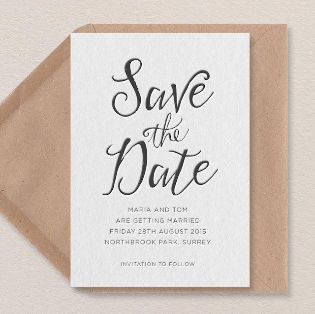Encargar las invitaciones de boda - Foto: www.notonthehighstreet.com