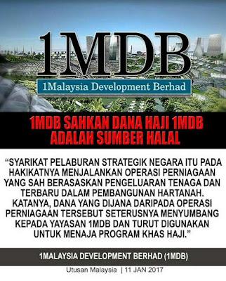 HAJI 1MDB TAK MABRUR, BILA MAHATHIR NAK 'U-TURN'?