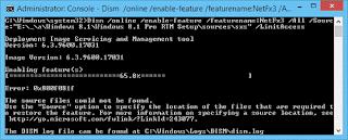 0x800F0906/81F Errors While Installing .NET Framework 3.5 in Windows 10