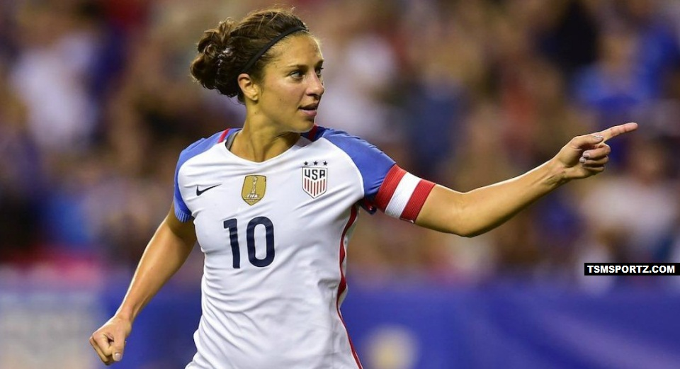 Carli Lloyd 2017 Earnings